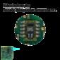 Lupennahe Aufnahme eines SHT 11 Sensors der sich auf der Rückseite des K33 BLG befindet