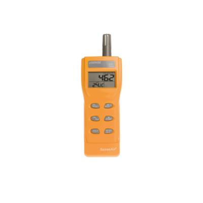Mobiles Messgerät für schnelle Messungen von t, CO2