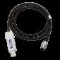 USB-Kabel zum Auslesen des Geräts am Computer